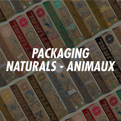 Curieux Natural packaging